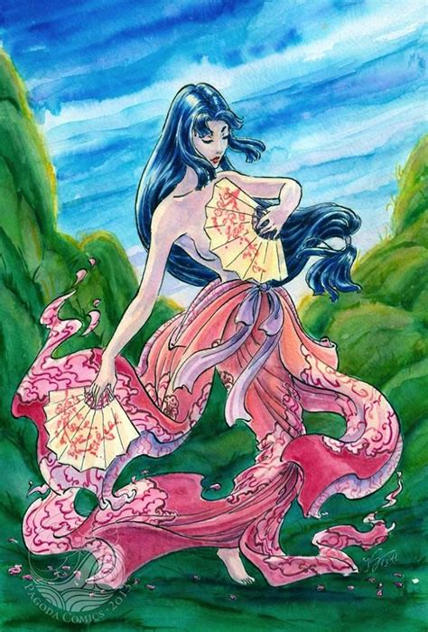 Amaterasu and Uzume Goddesses of Japan