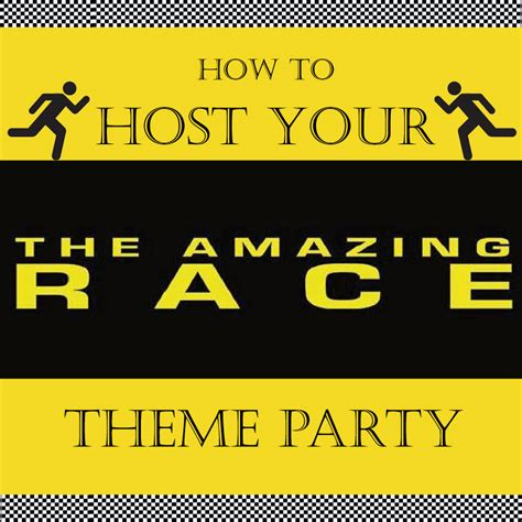 Amazing Race Birthday Party Ideas The Budget Diet