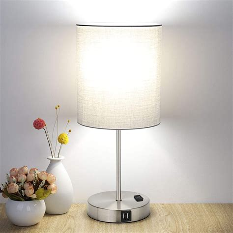 Amazon Bedside Lamps With Outlet
