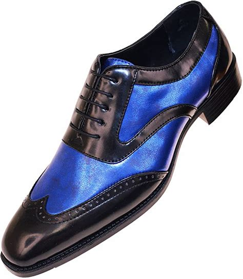 Amazon Mens Two Tone Dress Shoes Clothing Shoes