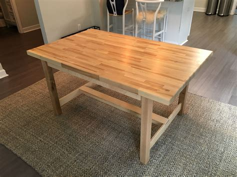 Amazon butcher block tables Kitchen Dining Room