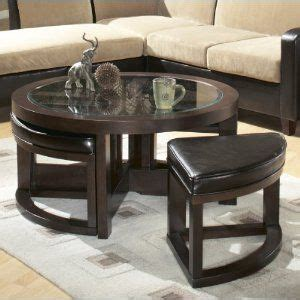 Amazon ca Coffee Table with Ottomans