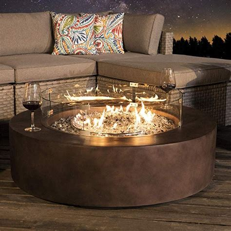Amazon coffee table with fire pit