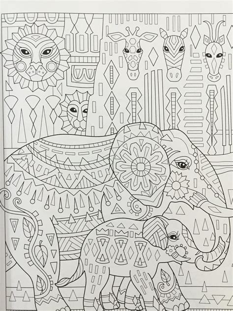 Amazon elephant coloring pages
