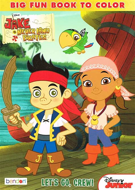Amazon jake and the neverland pirates coloring book