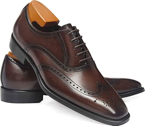 Amazon mens leather dress boots Clothing Shoes