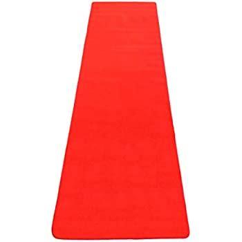 Amazon red carpet aisle runner