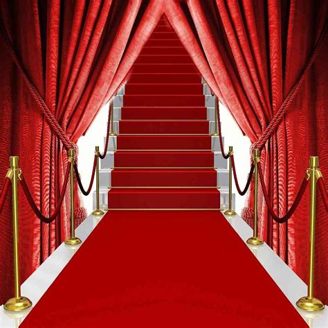 Amazon red carpet background