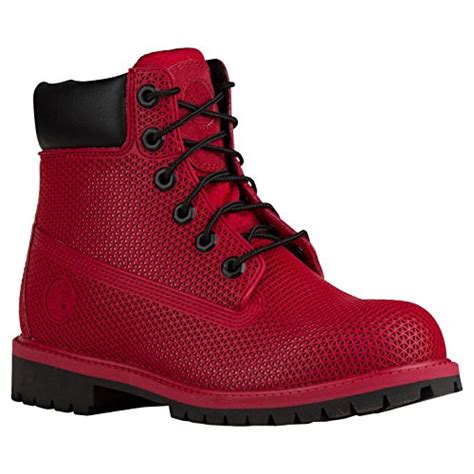 Amazon red timberland boots