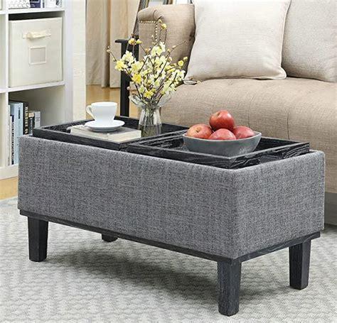Amazon storage ottoman coffee table Home Kitchen