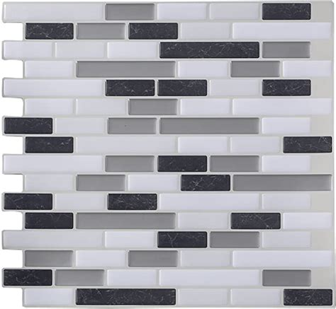 Amazon vinyl tile backsplash