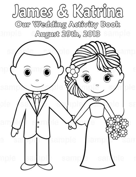 Amazon wedding coloring pages