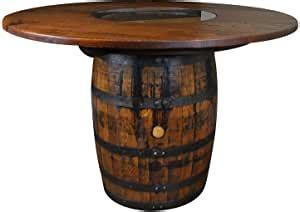 Amazon whiskey barrel table