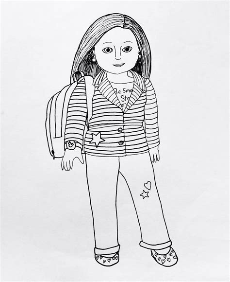 American Girl Doll Printables