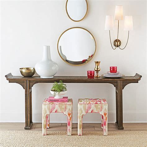 Ananda Serving Table Rustic Black Serving Table Wood