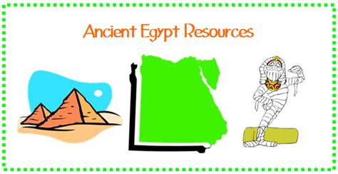 Ancient History Ancient Egypt Resources Sprouting Tadpoles