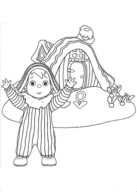 Andy Pandy coloring pages on Coloring Book info