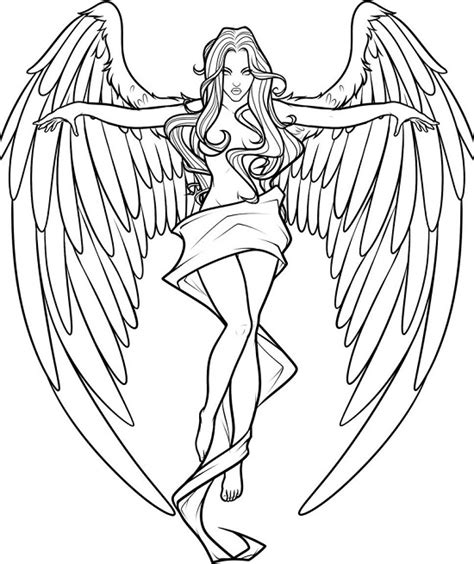 Angel Coloring Pages 2