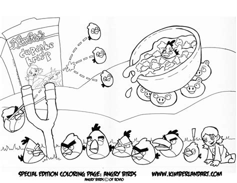 Angry Birds Epic Coloring Pages GetColoringPages