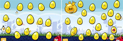 Angry Birds Golden Eggs Walkthrough All 35 Eggs