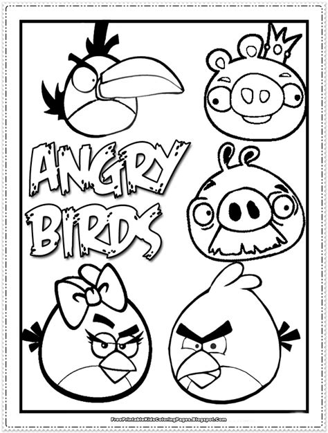 Angry Birds coloring pages Free Coloring Pages