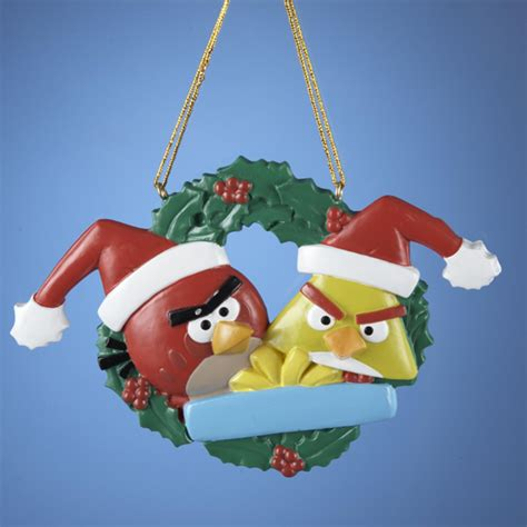 Angry birds decorations Christmas Holiday Ornaments