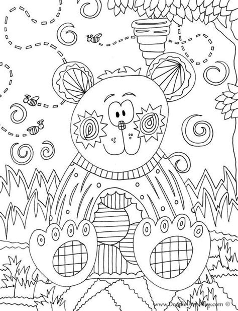 Animal Coloring pages Doodle Art Alley