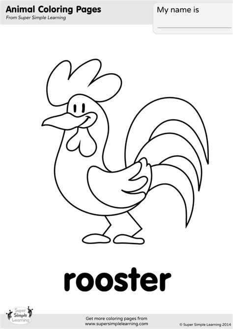 Animals Coloring Pages ColorMeGood