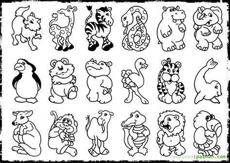 Animals Coloring Pages Free Printable Animals Coloring