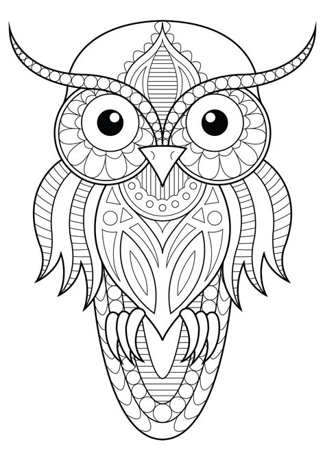 Animals Patterns and Coloring Pages page 1 abcteach