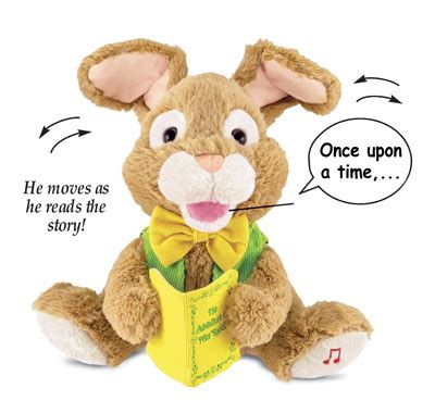 Animated Storytime Talking Easter Bunny Collections Etc