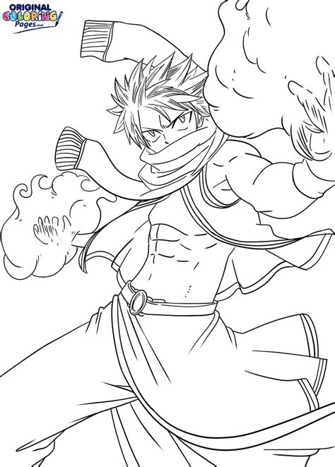 Anime coloring pages Manga coloring pages DinoKids