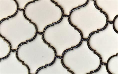 Antique Design Lantern Ceramic Mesh Mounted Mosaic Tile