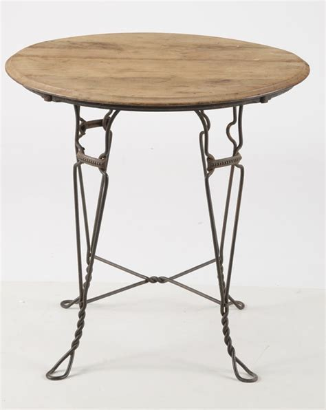 Antique Ice Cream Parlor Table and Chairs EBTH