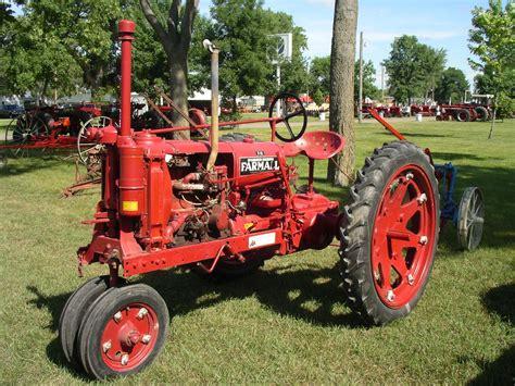 Antique International Farmall Tractor Farmall F 12