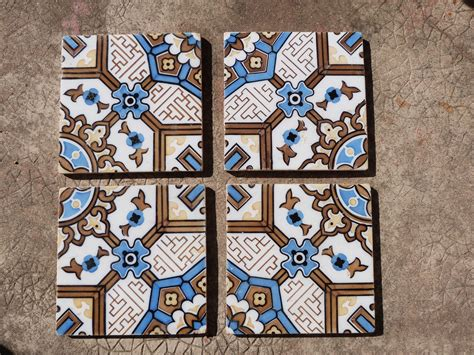 Antique floor tile Etsy