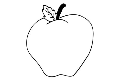 Apples Coloring Pages A Kid s Heart