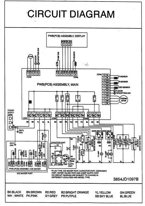 ge appliance wiring diagram images refrigerator wiring diagram appliance wiring diagrams sears
