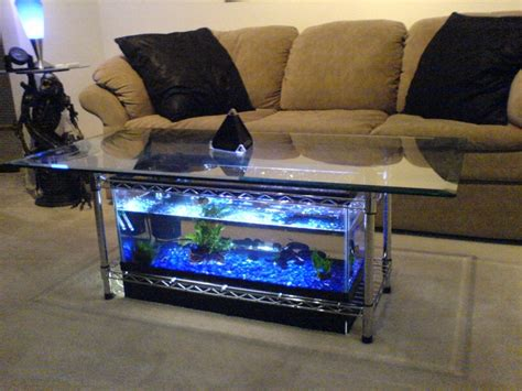 Aquarium Coffee Table 7 Steps with Pictures Instructables