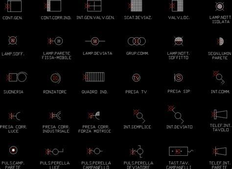 ArchBlocks Electrical Symbol Library AutoCAD Symbols