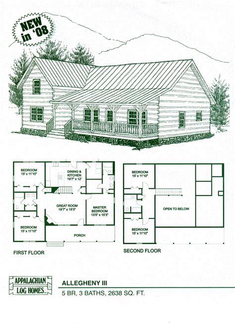 Arizona Log Home Kit Floor Plans Cabin Construction