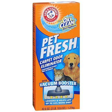 Arm Hammer Pet Fresh Carpet Odor Eliminator Powder plus
