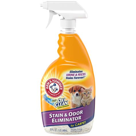 Arm Hammer plus Oxi Clean Pet Stain Odor Remover 32 oz