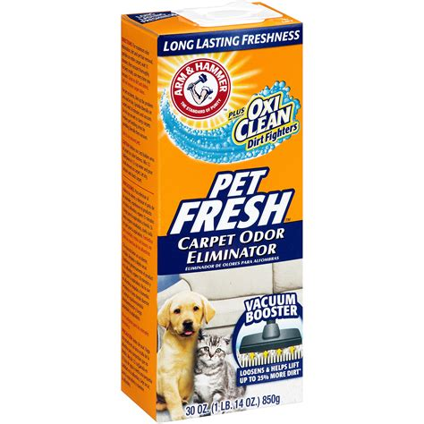 Arm Hammer with OxiClean Pet Fresh Carpet Odor