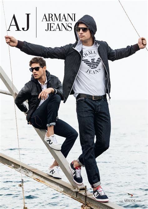 Armani Jeans Men s Clothing for Sale The Menswear Site