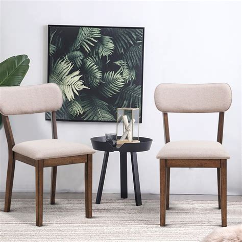 Armless Dining Chairs Upholstered Dining Chairs Modern casalife