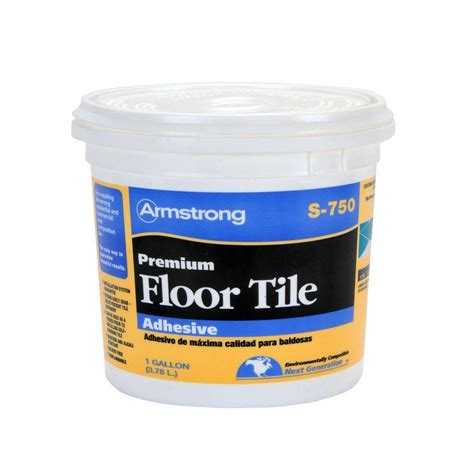 Armstrong S 750 1 Gal Resilient Tile Adhesive 00750408