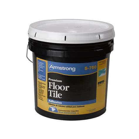 Armstrong S 750 4 Gal Resilient Tile Adhesive 00750418