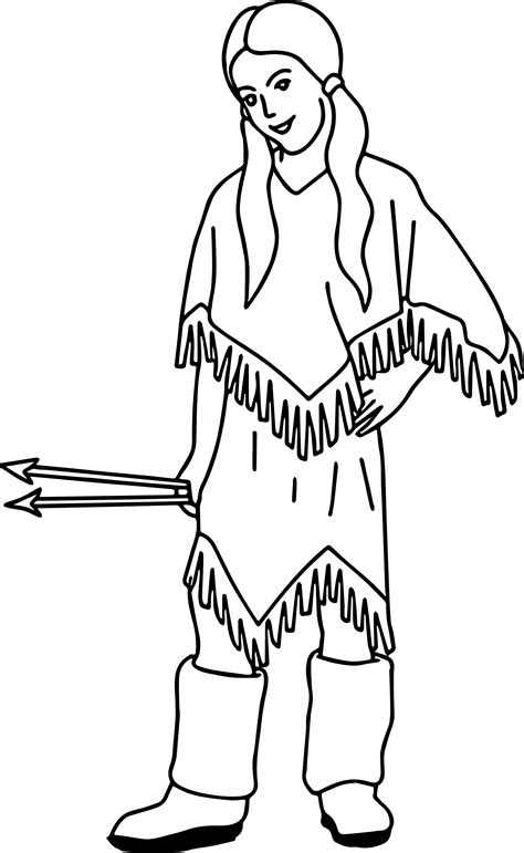 Arrowheads Coloring Page Native American Indian Coloring