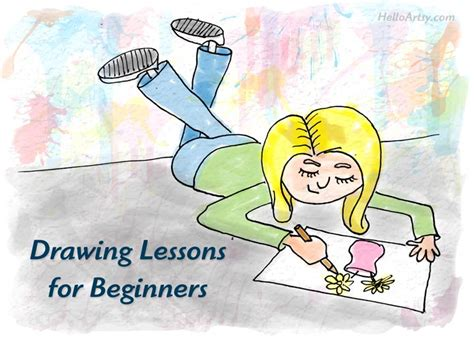 Art Instruction For Beginners Online Art Lessons